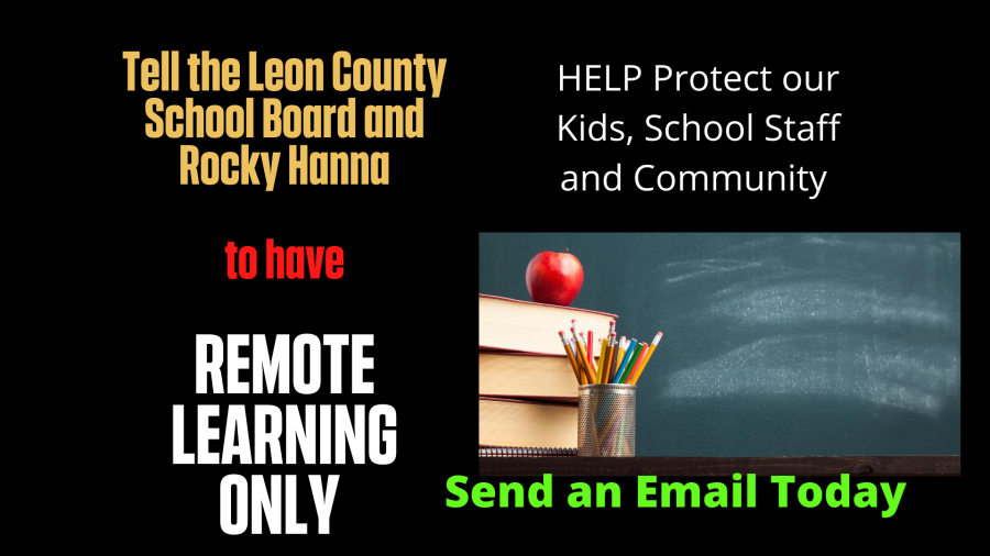 REMOTE LEARNING ONLY in Leon County Schools